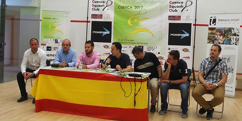 Todo listo para que comience el Campeonato Absoluto de España de Squash de Equipos por Clubes
