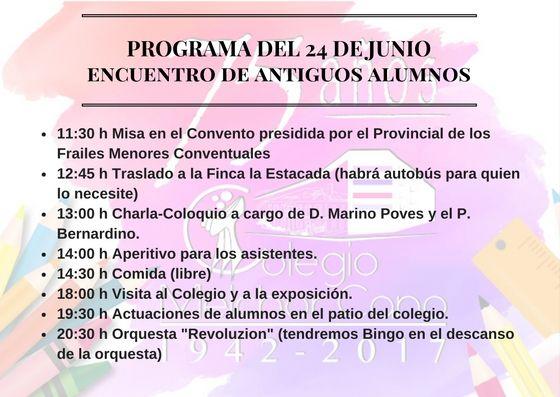 Reencuentro de antiguos alumnos del Colegio Melchor Cano de Tarancón