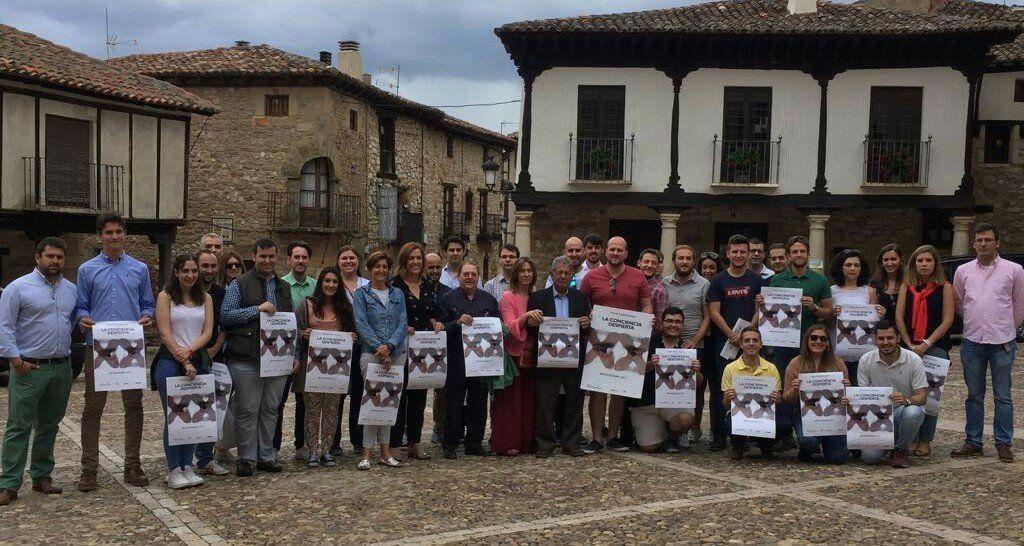 NNGG de Guadalajara rinde homenaje a Miguel Ángel Blanco en la III Escuela de Verano en Atienza