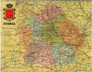 Las 8 provincias de Cuenca en 1906