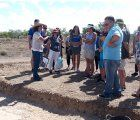 Buena respuesta del público en las visitas guiadas a las excavaciones en curso en el Parque Arqueológico de Segóbriga