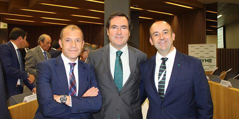 CEOE-Cepyme Cuenca participa en la reelección de Antonio Garamendi como presidente de Cepyme