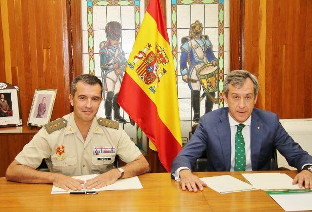 Caja Rural Castilla-La Mancha renueva su compromiso con la Academia de Infantería