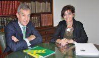 Caja Rural Castilla-La Mancha visita a la nueva presidenta del Ilustre Colegio Oficial de Médicos de Toledo