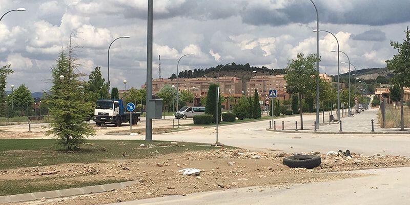 Cs Cuenca insiste en la necesidad de limpiar y controlar los vertederos ilegales de la ciudad