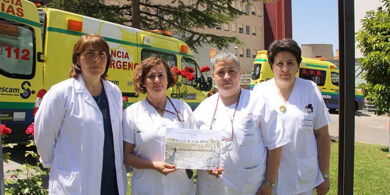 Cuatro técnicos en Cuidados de Enfermería de Cuenca reciben un premio por un estudio sobre la Declaración de Voluntades Anticipadas