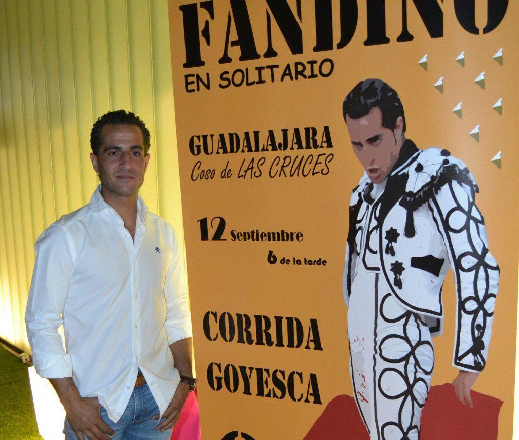 Curro Díaz actuará por el malogrado Iván Fandiño en Guadalajara