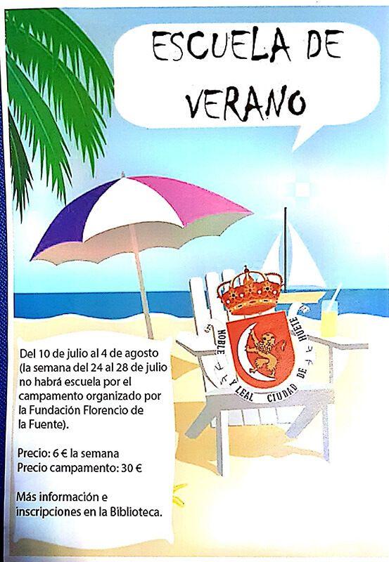 El Ayuntamiento de Huete organiza la Escuela de Verano