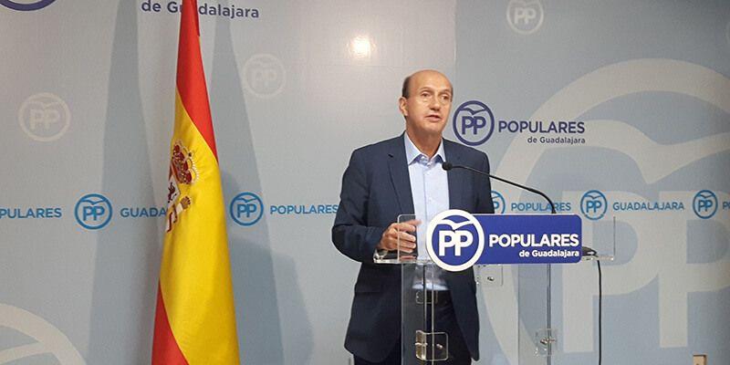 El PP recrimina a Page sus insultos contra los guadalajareños y le reprocha su abandono a la provincia de Guadalajara
