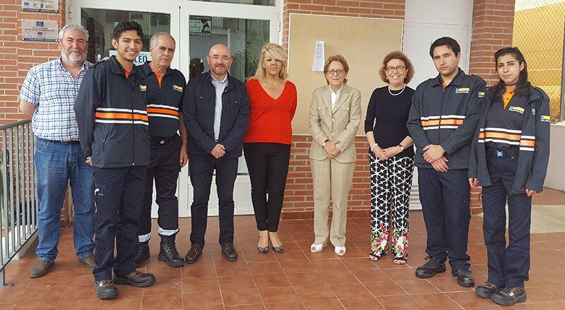 El director general de Protección Ciudadana visita la agrupación de voluntarios de Protección Civil de Galápagos