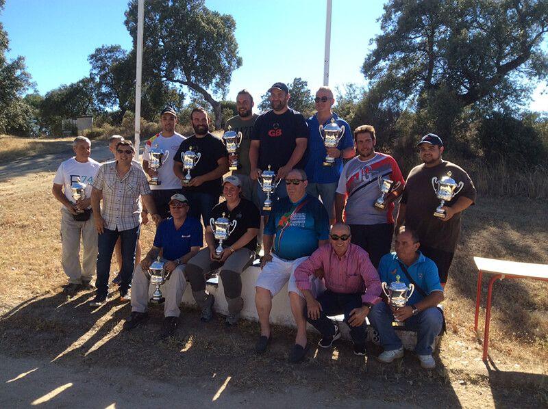 El tirador alcarreño Jesús Golbano, campeón regional de Recorridos de Caza en veteranos