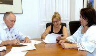 Formalizado el contrato de adjudicación a Alosan de la gestión del Albergue Provincial de Animales