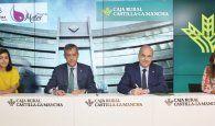 Fundación Caja Rural CLM se suma al 'Proyecto Mater' de Cáritas Diocesana Toledo