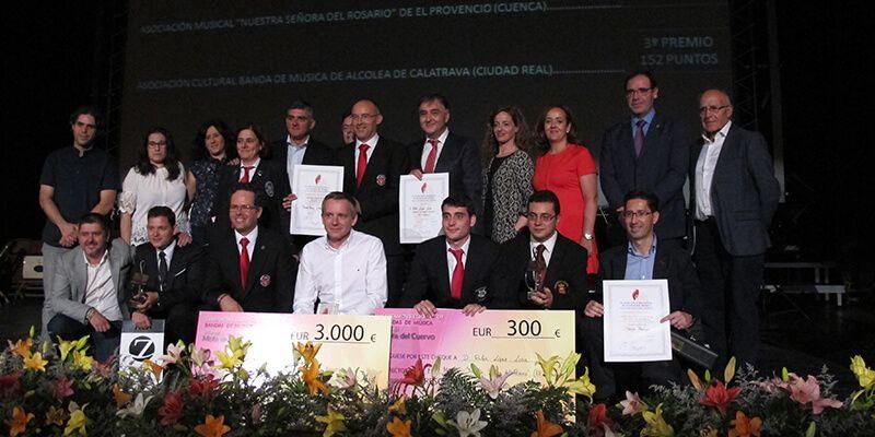 Globalcaja apoyó el IV Certamen Regional de Bandas de Música Villa Mota del Cuervo