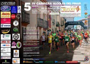 IV Carrera de Alcolea del Pinar a favor de Nipace el 5 de agosto