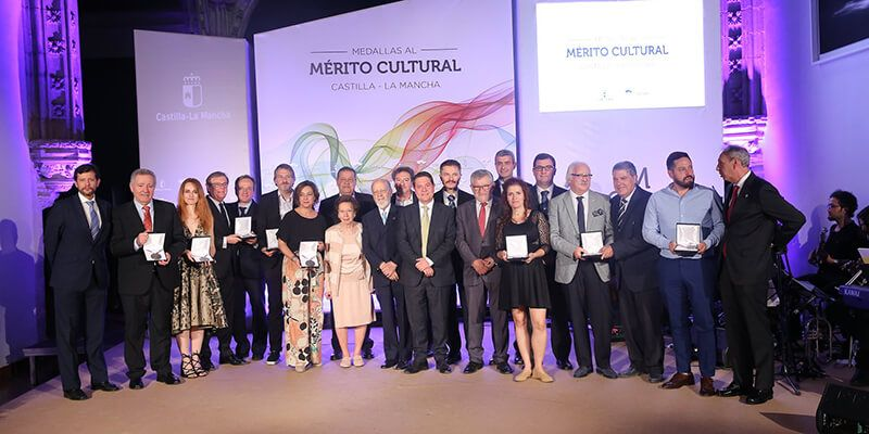 La Facultad de Bellas Artes y el Club Siglo Futuro ponen el acento castellano en la entrega de las Medallas al Mérito Cultural de Castilla-La Mancha