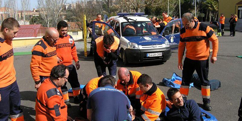 La Junta amplía en junio la formación de 135 voluntarios de Protección Civil sobre apoyo a los grupos especializados en emergencias