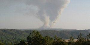 La Junta de Comunidades ha decretado el nivel 1 en el incendio de Campillo de Altobuey