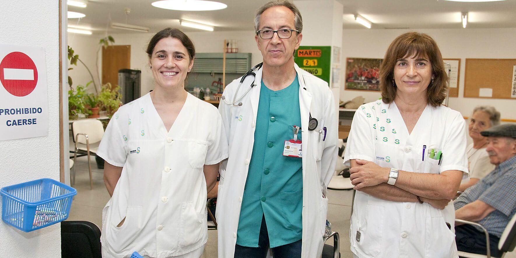 La sección de Geriatría del Hospital de Guadalajara ha