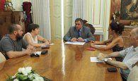 Mariscal traslada a CCOO la situación laboral del Ayuntamiento y las iniciativas para crear empleo