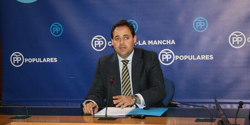 Núñez denuncia la dejadez del Gobierno de Page en Fomento, que nos deja dos años de parálisis en la obra pública