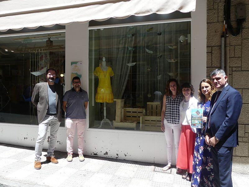 Nube Boutique gana el I Concurso de Escaparatismo de Cuenca con el diseño de Jennifer Ramos