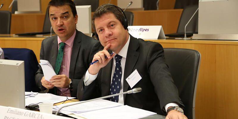 Page, elegido nuevo presidente de la Asociación de Regiones Europeas del Vino (AREV) por aclamación