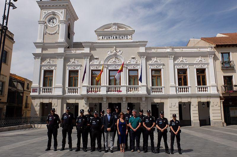 Toman posesión en Guadalajara seis nuevos policías locales, dos oficiales y dos subinspectores