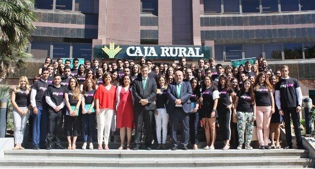 Un total de 86 alumnos comienzan sus prácticas universitarias en Caja Rural CLM
