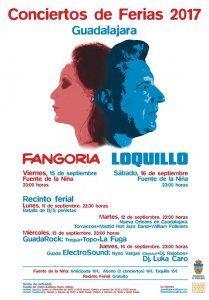 La venta de entradas de los conciertos de Fangoria y Loquillo en Guadalajara continúan a buen ritmo