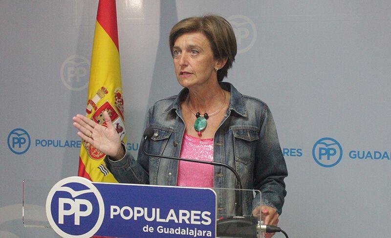 """Ana González """"Page ha protagonizado las imágenes de la vergüenza y de la sinrazón en Castilla-La Mancha"""""""