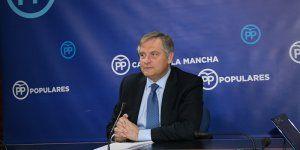 Cañizares critica el despotismo parlamentario de Page y Podemos al silenciar al PP en la tramitación de los presupuestos