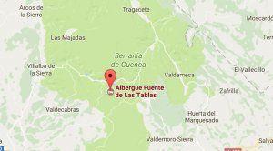 Declarado un incendio en Fuente de las Tablas, Cuenca