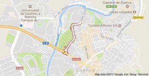 El desfile de carrozas de Cuenca ocasionará restricciones de tráfico en las calles del recorrido