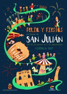 El primer sábado de la Feria y Fiestas de San Julián en Cuenca llega con multitud de actividades