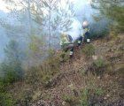 Extinguido el fuego de Yeste tras 13 días extinción y más de 3.000 hectáreas quemadas