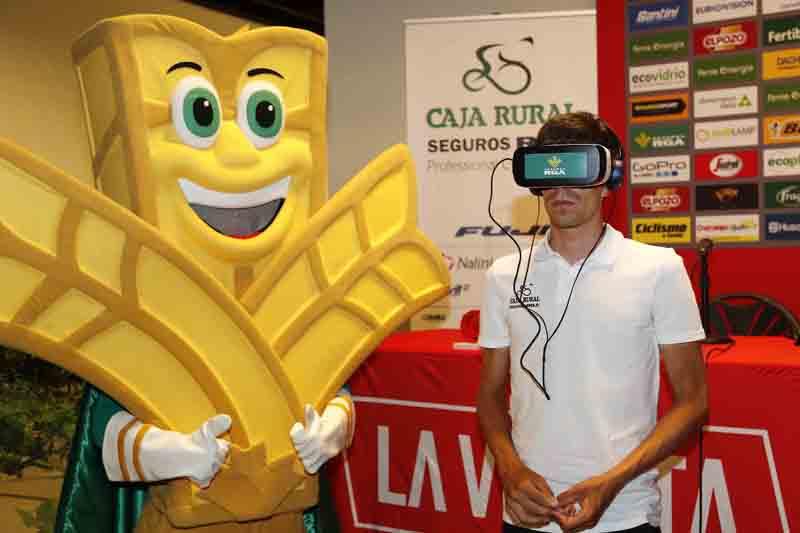 Fan Zone solidaria de Globalcaja en Cuenca con motivo de la Vuelta Ciclista a España