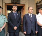 Gregorio expresa su apoyo a las víctimas de los atentados de Cataluña y apela a trabajar unidos junto a las Fuerzas y Cuerpos de Seguridad para derrotar al terrorismo