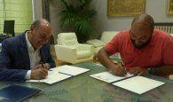 La Diputación de Guadalajara y el Club Alcarreño renuevan su convenio de colaboración