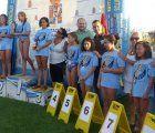 Latre asiste a la final y entrega de premios del Campeonato de Interpueblos de Natación celebrado en Yebra