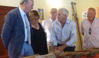 Latre asiste al acto homenaje a los mayores en el municipio de Ablanque