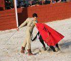 Mario Arruza sale a hombros de la Plaza de Tamajón