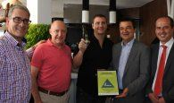 Martínez Arroyo certifica el primer restaurante en Guadalajara que garantiza la Dieta Mediterránea