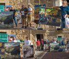 Nuevo apoyo de la Fundación Globalcaja Cuenca al VIII Certamen de Pintura Rápida 'Villa de Sisante'