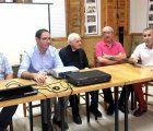 Prieto anima al pueblo de Valdemorillo de la Sierra a continuar rescatando parte de su historia