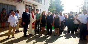 Prieto celebra la festividad de San Bartolomé asistiendo a las fiestas patronales de La Almarcha y Casasimarro
