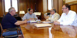 Diputación de Cuenca respaldará la celebración en la capital en 2018 del II Congreso del Colegio de Enología de Castilla-La Mancha