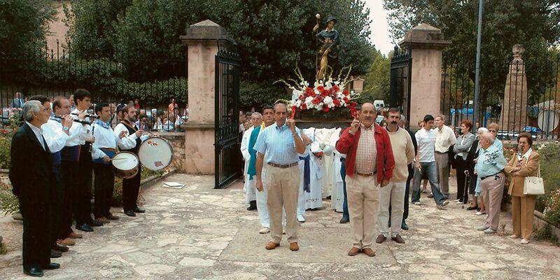 Resultado de imagen de Fiesta de San Roque (Palazuelos)