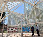 El Ayuntamiento de Cuenca instala un vallado perimetral en el Bosque de Acero