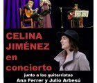 Celina Jiménez actuará en concierto en San Clemente